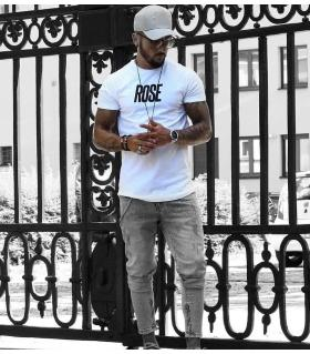 T-shirt ανδρικό -rose- OT7491