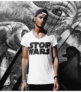 T-shirt ανδρικό -stop wars- OT7492