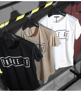 T-shirt ανδρικό -broke af- OT7495