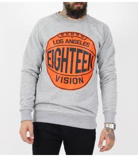 Μπλούζα φούτερ ανδρική Los Angeles PE9533