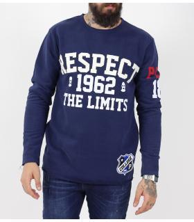 Μπλούζα φούτερ ανδρική Respect PE9691