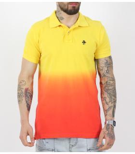 Polo Tshirt ανδρικό διχρωμία PH4903
