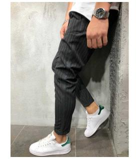 Παντελόνι ανδρικό ριγέ stripe PV1012