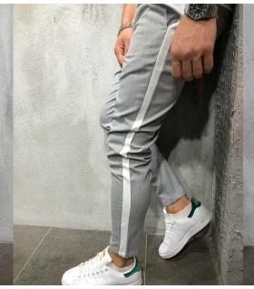 Παντελόνι ανδρικό stripes PV1023