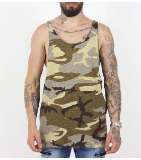 Αμάνικο ανδρικό militaire Tshirt PV17121