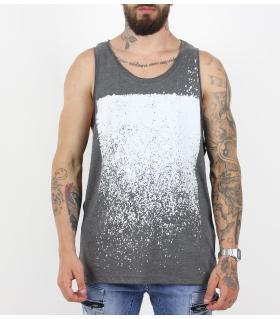Αμάνικο ανδρικό Tshirt loose PV17132