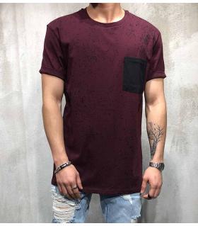 T-shirt ανδρικό με τσεπάκι PV17140