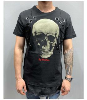 T-shirt ανδρικό -skull- PV25123