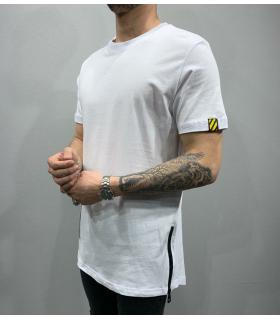 T-shirt ανδρικό zips PV25143