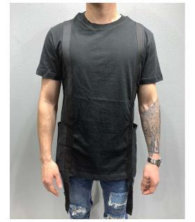 T-shirt ανδρικό ιμάντες PV25174