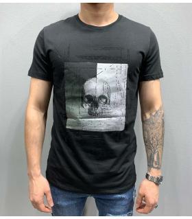 T-shirt ανδρικό -skull- PV25175