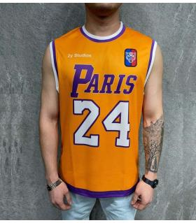 Αμάνικο ανδρικό Tshirt -Paris 24- PV35277