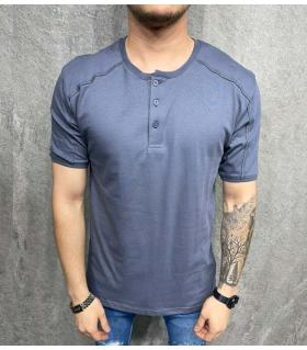 T-shirt ανδρικό με κουμπάκια PV36066