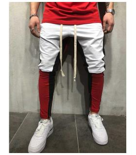 Παντελόνι φόρμας triple colour stripes PV5049