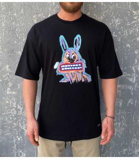 T-shirt ανδρικό oversized -Bunny- R21039