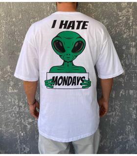 T-shirt ανδρικό oversized -Mondays- R21042