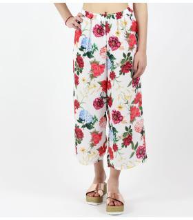 Παντελόνα γυναικεία λουλούδια SC31000046
