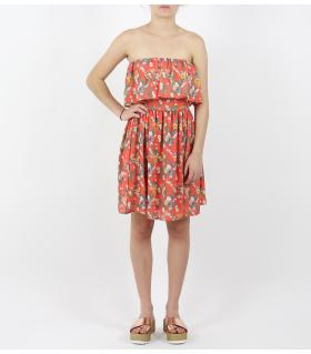 Φόρεμα straples βολάν SC33000137