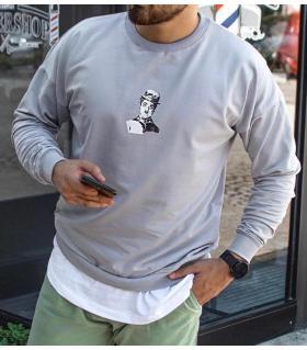 Μπλούζα φούτερ λεπτή -Charlie Chaplin- SN7815