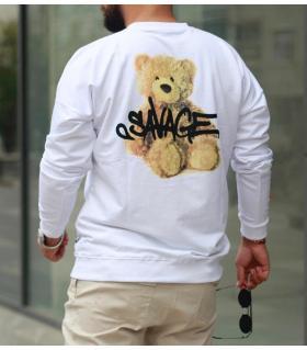 Μπλούζα φούτερ λεπτή -savage- SN7819